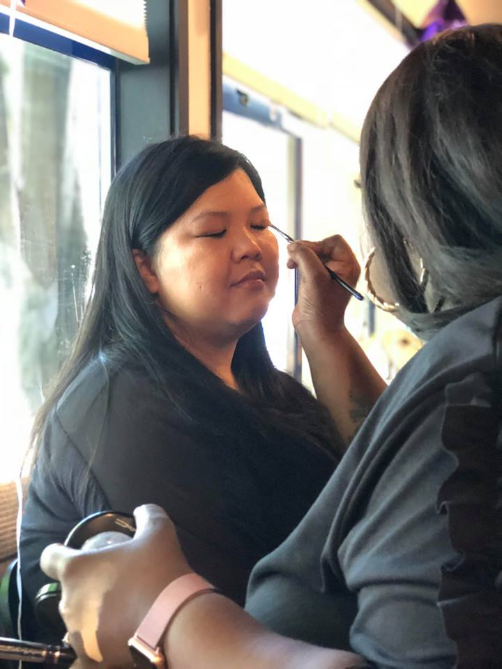Arxegoz Beauty Pop Up Guest Makeover