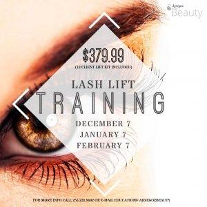 Lash Lift classes Seattle Bellevue Renton Tacoma