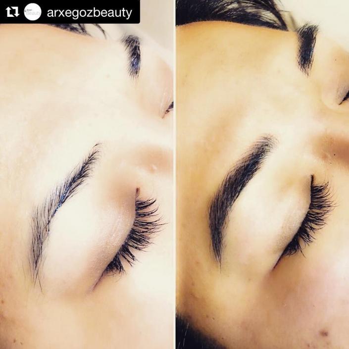 Arxegoz Beauty microblading and eyelash extension salon studio in Renton WA