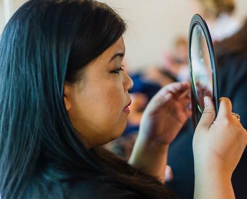 Arxegoz Beauty Pop Up Customer Makeover