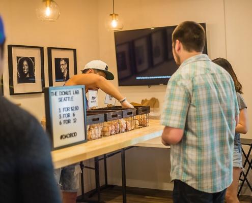 Arxegoz Beauty Pop Up Donut lab vendor