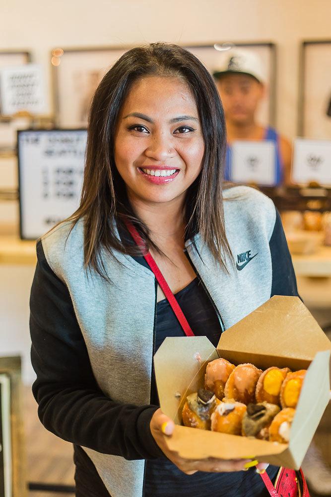 Arxegoz Beauty Pop Up Donut Lab Customer